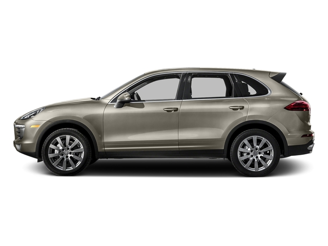 Palladium Metallic 2016 Porsche Cayenne Pictures Cayenne Utility 4D S AWD V6 Turbo photos side view