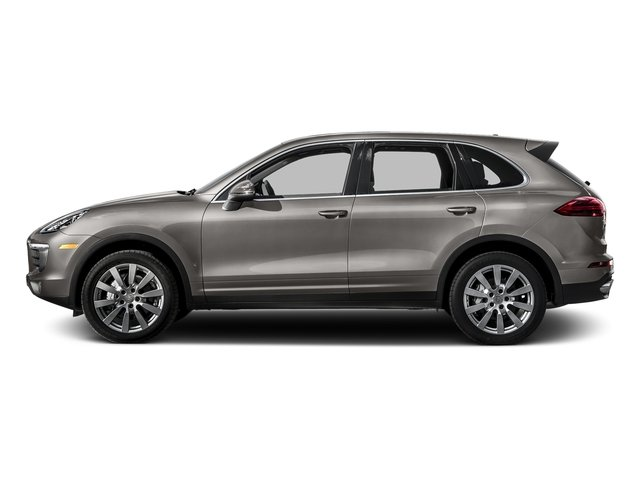 Meteor Gray Metallic 2016 Porsche Cayenne Pictures Cayenne Utility 4D S AWD V6 Turbo photos side view