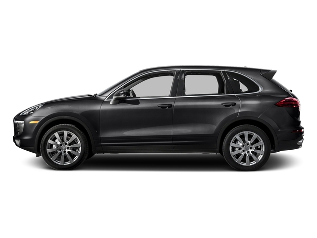 Black 2016 Porsche Cayenne Pictures Cayenne Utility 4D S AWD V6 Turbo photos side view