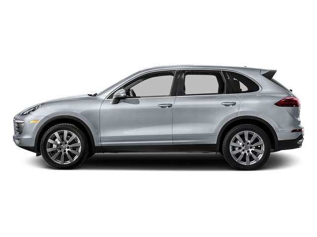 Rhodium Silver Metallic 2016 Porsche Cayenne Pictures Cayenne Utility 4D S AWD V6 Turbo photos side view