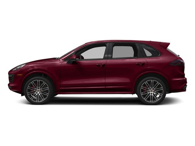 Carmine Red 2016 Porsche Cayenne Pictures Cayenne Utility 4D GTS AWD V6 Turbo photos side view