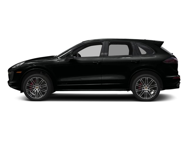 Jet Black Metallic 2016 Porsche Cayenne Pictures Cayenne Utility 4D GTS AWD V6 Turbo photos side view
