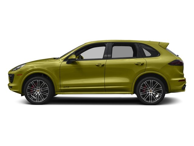 Peridot Metallic 2016 Porsche Cayenne Pictures Cayenne Utility 4D GTS AWD V6 Turbo photos side view