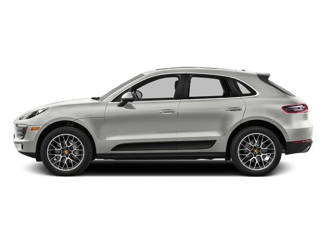 White 2016 Porsche Macan Pictures Macan Utility 4D AWD V6 Turbo photos side view