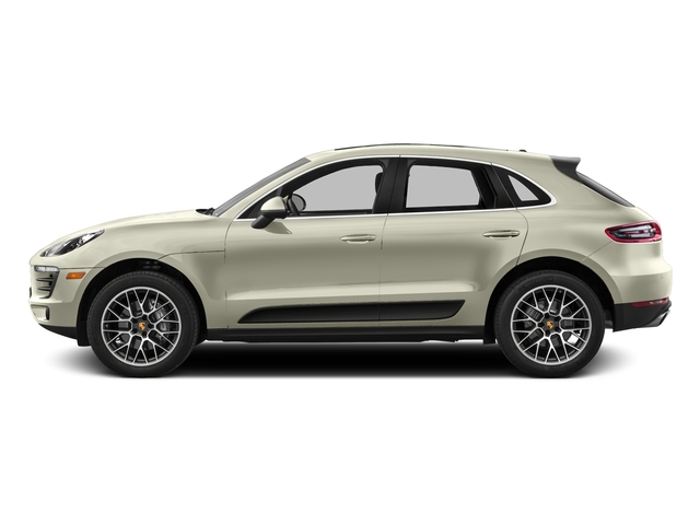Carrara White Metallic 2016 Porsche Macan Pictures Macan Utility 4D AWD V6 Turbo photos side view