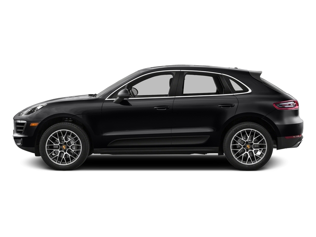 Black 2016 Porsche Macan Pictures Macan Utility 4D AWD V6 Turbo photos side view