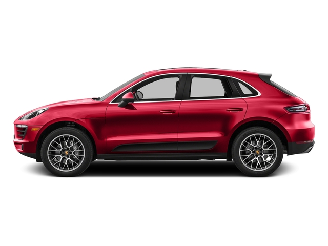 Impulse Red Metallic 2016 Porsche Macan Pictures Macan Utility 4D AWD V6 Turbo photos side view