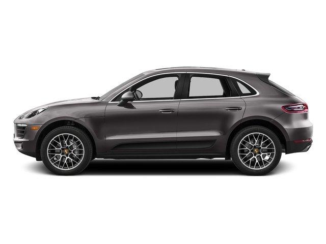 Agate Gray Metallic 2016 Porsche Macan Pictures Macan Utility 4D AWD V6 Turbo photos side view