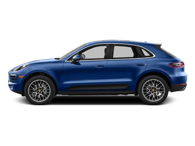 Sapphire Blue Metallic 2016 Porsche Macan Pictures Macan Utility 4D AWD V6 Turbo photos side view