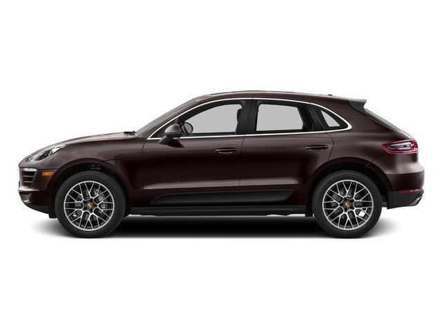 Mahogany Metallic 2016 Porsche Macan Pictures Macan Utility 4D AWD V6 Turbo photos side view