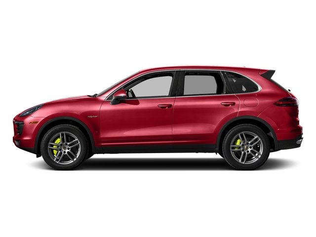 Carmine Red 2016 Porsche Cayenne Pictures Cayenne Utility 4D S V6 e-Hybrid AWD photos side view