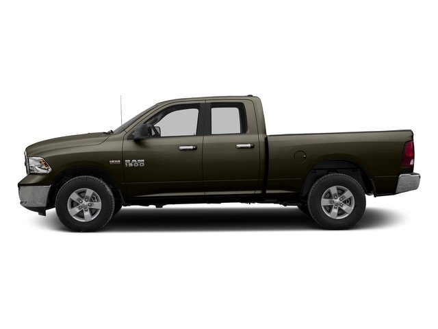 Dark Brown 2016 Ram Truck 1500 Pictures 1500 Quad Cab SLT 4WD photos side view