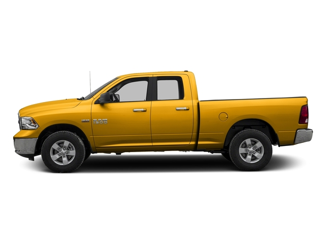 Construction Yellow 2016 Ram Truck 1500 Pictures 1500 Quad Cab Express 2WD photos side view
