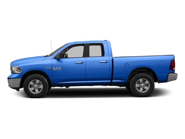 Holland Blue 2016 Ram Truck 1500 Pictures 1500 Quad Cab SLT 4WD photos side view