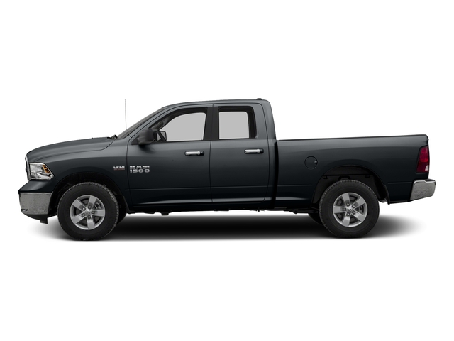 Maximum Steel Metallic Clearcoat 2016 Ram Truck 1500 Pictures 1500 Quad Cab SLT 4WD photos side view