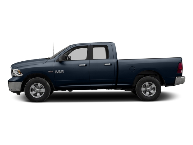 True Blue Pearlcoat 2016 Ram Truck 1500 Pictures 1500 Quad Cab SLT 4WD photos side view