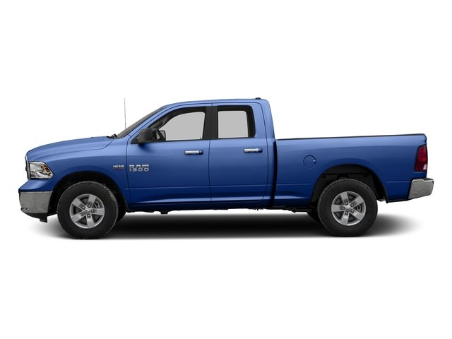 Blue Streak Pearlcoat 2016 Ram Truck 1500 Pictures 1500 Quad Cab SLT 4WD photos side view