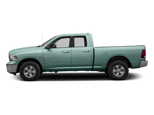 Light Green 2016 Ram Truck 1500 Pictures 1500 Quad Cab Express 2WD photos side view