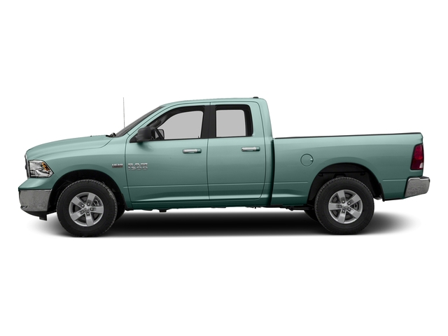 Light Green 2016 Ram Truck 1500 Pictures 1500 Quad Cab SLT 4WD photos side view