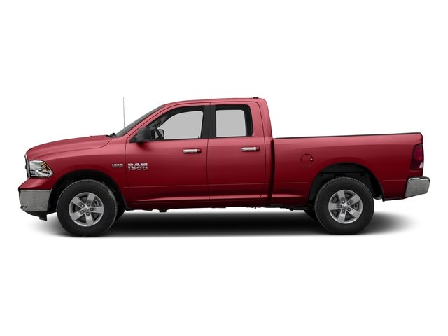 Flame Red Clearcoat 2016 Ram Truck 1500 Pictures 1500 Quad Cab Express 2WD photos side view