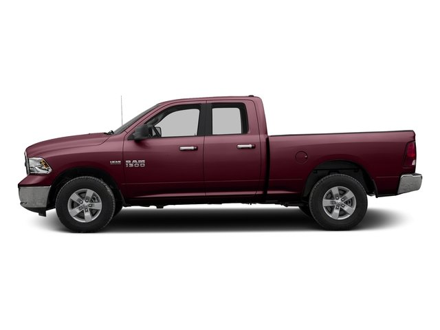 Delmonico Red Pearlcoat 2016 Ram Truck 1500 Pictures 1500 Quad Cab Express 2WD photos side view