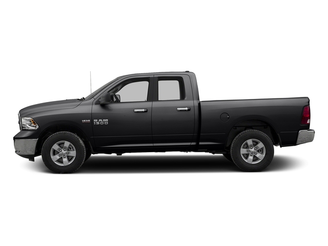 Black Clearcoat 2016 Ram Truck 1500 Pictures 1500 Quad Cab SLT 4WD photos side view