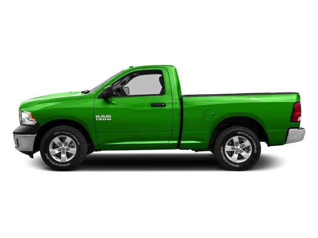 Hills Green 2016 Ram Truck 1500 Pictures 1500 Regular Cab SLT 4WD photos side view