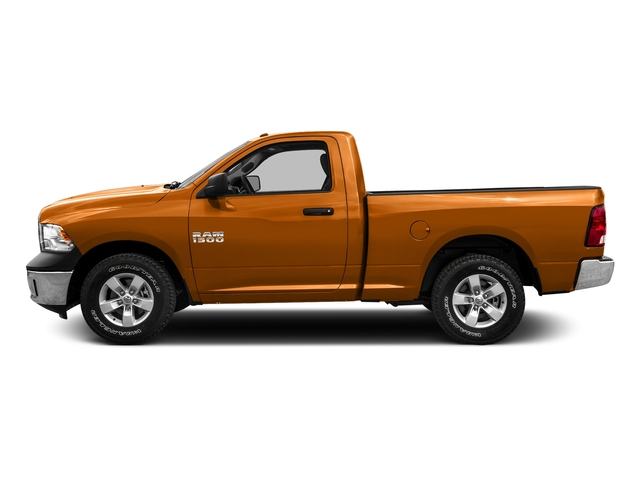 Omaha Orange 2016 Ram Truck 1500 Pictures 1500 Regular Cab SLT 2WD photos side view