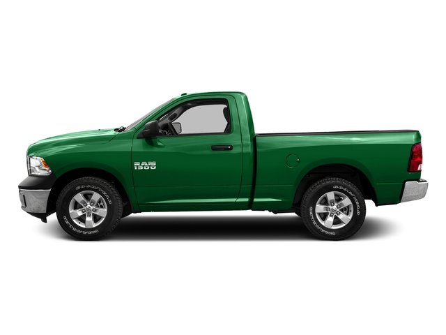 Bright Green 2016 Ram Truck 1500 Pictures 1500 Regular Cab SLT 4WD photos side view