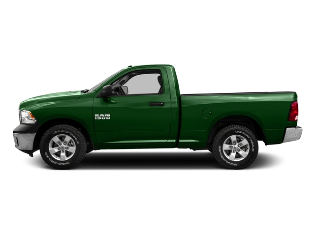 Tree Green 2016 Ram Truck 1500 Pictures 1500 Regular Cab SLT 2WD photos side view