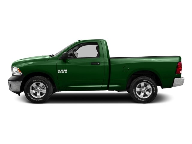 Tree Green 2016 Ram Truck 1500 Pictures 1500 Regular Cab SLT 4WD photos side view