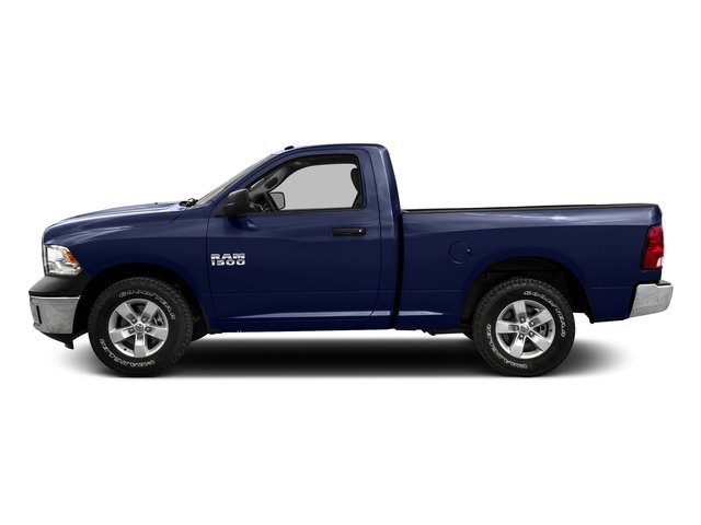 True Blue Pearlcoat 2016 Ram Truck 1500 Pictures 1500 Regular Cab SLT 2WD photos side view