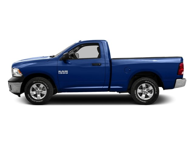 Blue Streak Pearlcoat 2016 Ram Truck 1500 Pictures 1500 Regular Cab SLT 4WD photos side view