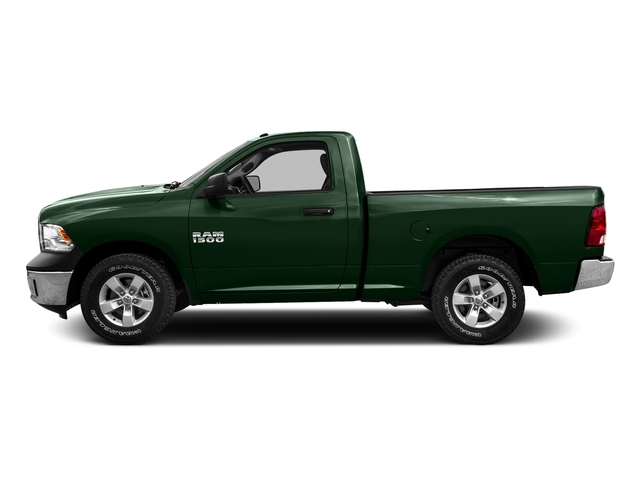Timberline Green Pearlcoat 2016 Ram Truck 1500 Pictures 1500 Regular Cab SLT 2WD photos side view