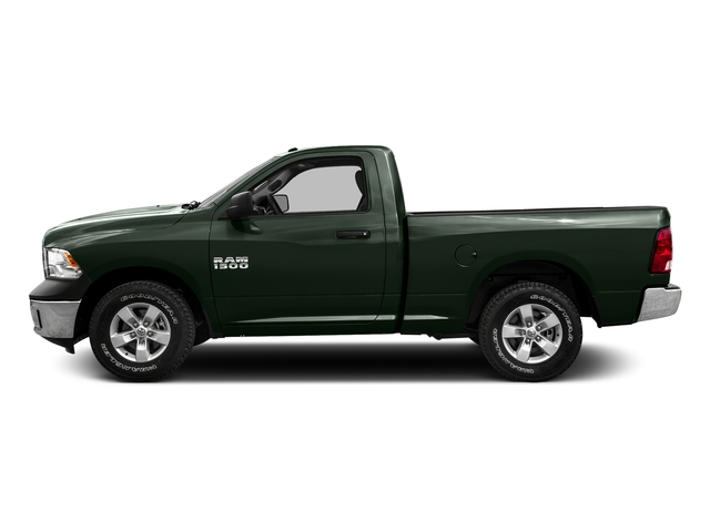 Black Forest Green Pearlcoat 2016 Ram Truck 1500 Pictures 1500 Regular Cab SLT 4WD photos side view