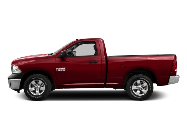 Flame Red Clearcoat 2016 Ram Truck 1500 Pictures 1500 Regular Cab SLT 4WD photos side view