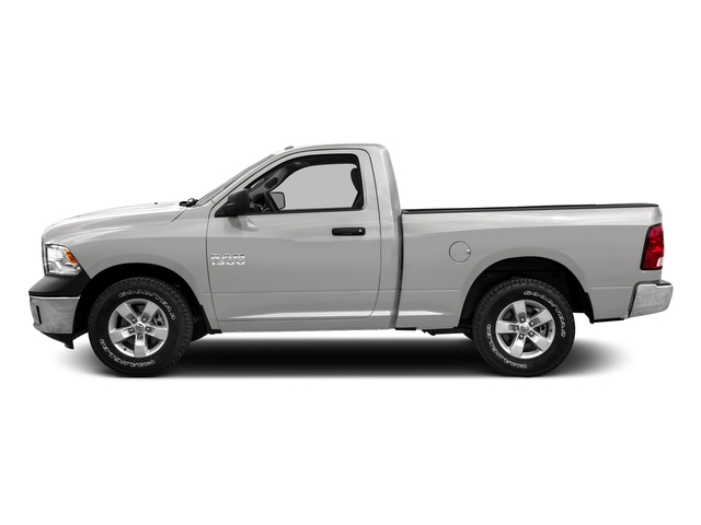 Bright Silver Metallic Clearcoat 2016 Ram Truck 1500 Pictures 1500 Regular Cab SLT 4WD photos side view