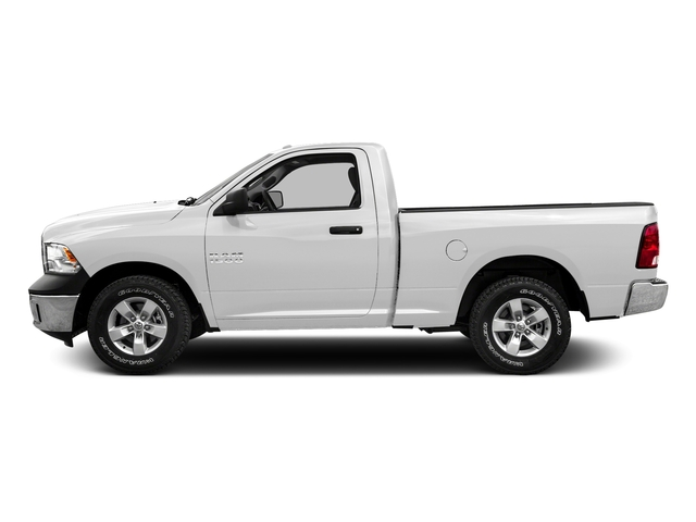 Bright White Clearcoat 2016 Ram Truck 1500 Pictures 1500 Regular Cab SLT 2WD photos side view
