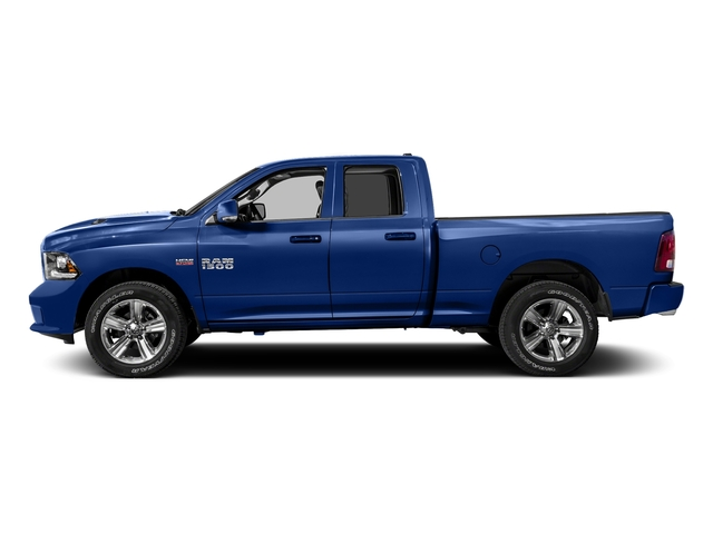 Blue Streak Pearlcoat 2016 Ram Truck 1500 Pictures 1500 Quad Cab Sport 2WD photos side view
