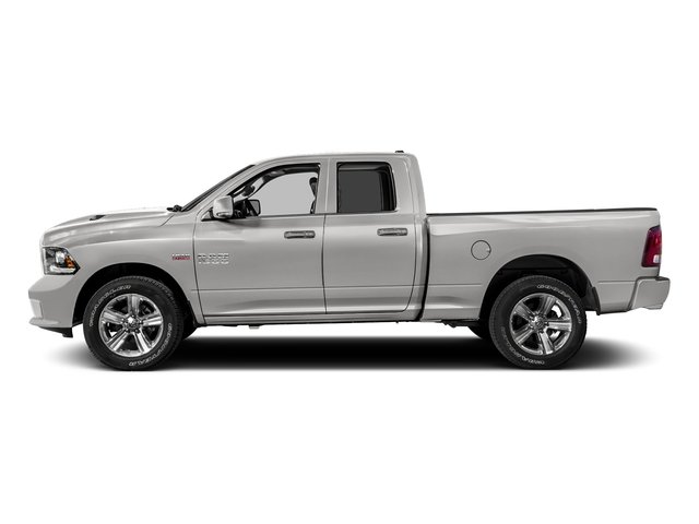Bright Silver Metallic Clearcoat 2016 Ram Truck 1500 Pictures 1500 Quad Cab Sport 2WD photos side view