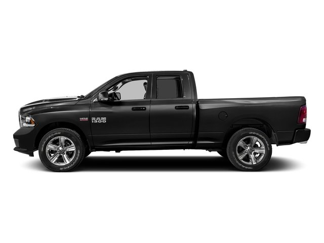Brilliant Black Crystal Pearlcoat 2016 Ram Truck 1500 Pictures 1500 Quad Cab Sport 2WD photos side view