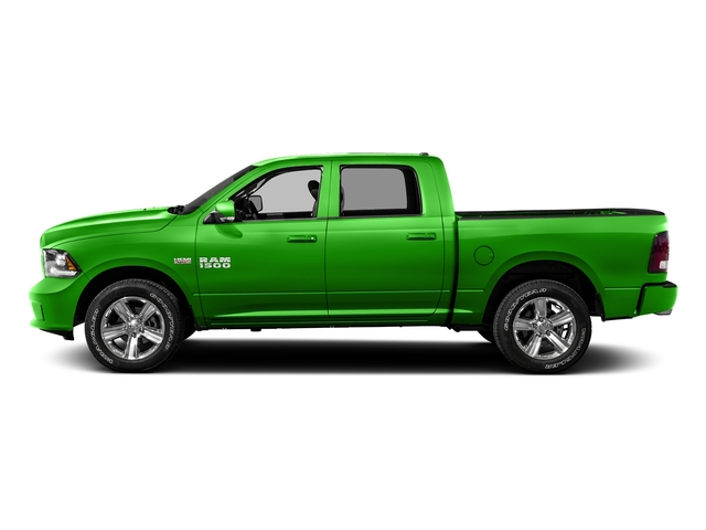 Hills Green 2016 Ram Truck 1500 Pictures 1500 Crew Cab Express 2WD photos side view