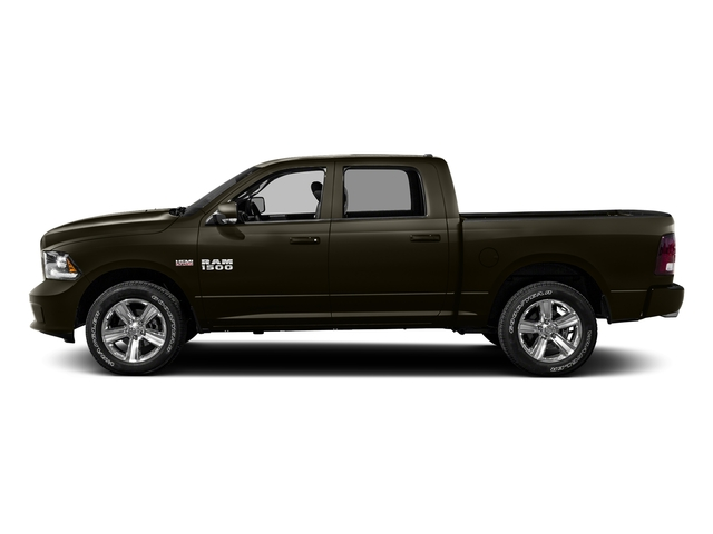 Dark Brown 2016 Ram Truck 1500 Pictures 1500 Crew Cab Express 2WD photos side view