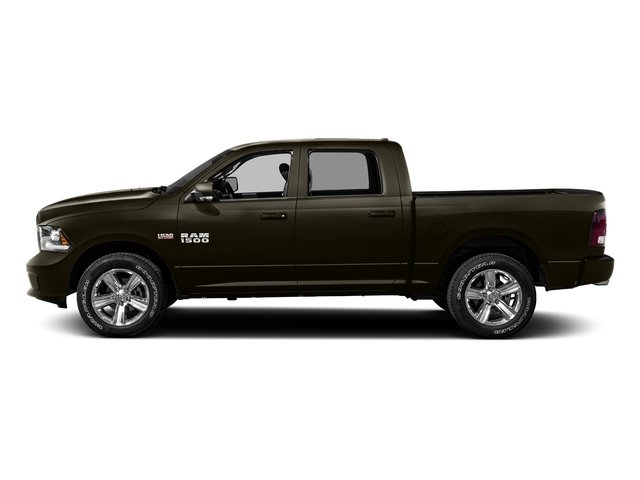 Dark Brown 2016 Ram Truck 1500 Pictures 1500 Crew Cab Outdoorsman 4WD photos side view