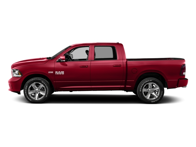 Agriculture Red 2016 Ram Truck 1500 Pictures 1500 Crew Cab Outdoorsman 4WD photos side view