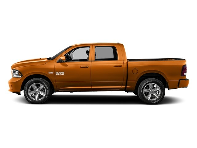 Omaha Orange 2016 Ram Truck 1500 Pictures 1500 Crew Cab Outdoorsman 4WD photos side view
