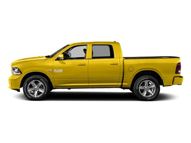 Yellow 2016 Ram Truck 1500 Pictures 1500 Crew Cab Outdoorsman 4WD photos side view
