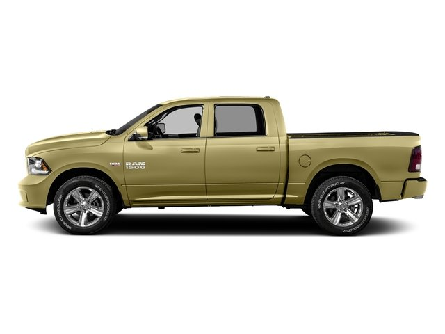 Light Cream 2016 Ram Truck 1500 Pictures 1500 Crew Cab Outdoorsman 4WD photos side view