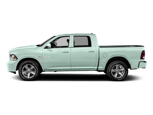 Robin Egg Blue 2016 Ram Truck 1500 Pictures 1500 Crew Cab Express 2WD photos side view
