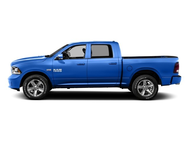 Holland Blue 2016 Ram Truck 1500 Pictures 1500 Crew Cab Outdoorsman 4WD photos side view